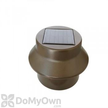 Pine Top Solar Utility Light - Brown