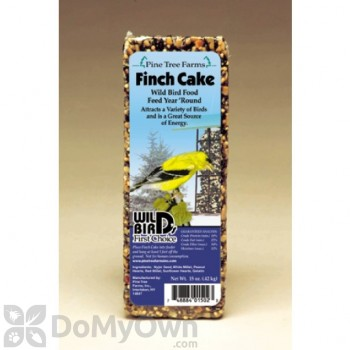 Pine Tree Farms Finch Seed Cake Bird Food 16 oz. (1502)