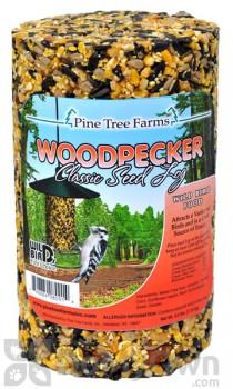 Pine Tree Farms Woodpecker Classic Seed Log Bird Food 2.5 lb. (8001)