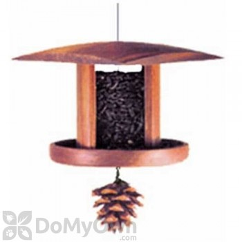 Schrodt Little Songbird Lantern Feeder 5 in. (PBBSLSBL)