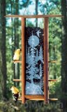 Schrodt Tranquil Forest Teahouse Bird Feeder 16 in. (TH16TF)