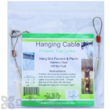 Songbird Essentials Hanging Cable For Bird Feeders and Plants 24 in. (SE8024)