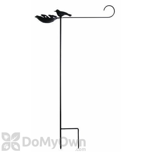 Toland Home And Garden Flag Stand With Bird Feeder 430106