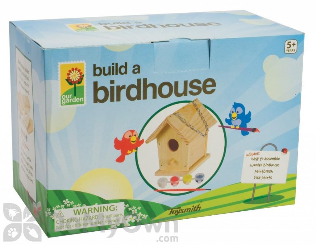 Build and paint a bird house kit 2953 toysmith build and paint a bird house kit 2953 solutioingenieria Images