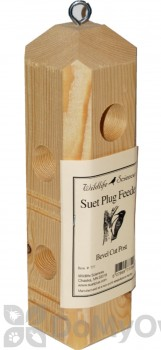 Wildlife Sciences Pine Plug Bird Feeder (777)