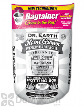 Dr Earth Home Grown Bagtainer Organic Potting Soil