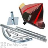Bird Barrier Eagle Eye Red Wind Powered Kit for Sea Gulls (ee-06)