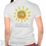 Grace for Grant Against Cancer Supportive T-Shirts  - White